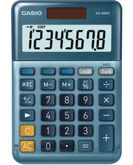 Calculator Casio MS-88EM blue