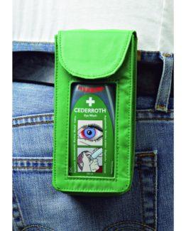 Bälteshållare för ögondusch