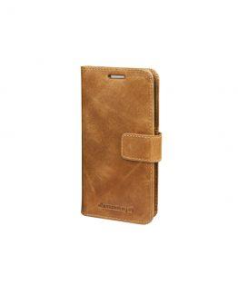 Galaxy S8 Wallet Lynge 2, Golden Tan