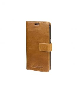 Galaxy S8+ Wallet Lynge 2, Golden Tan