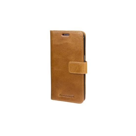 Galaxy S8+ Wallet Lynge 2, Golden Tan