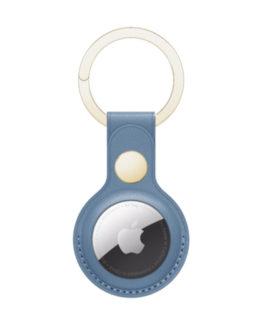 Copenhagen AirTag Key Ring, Um Blue/Gold
