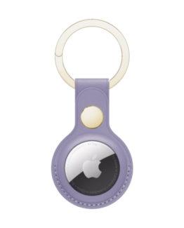 Copenhagen AirTag Key Ring, Db Purple/Gold