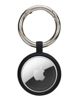 Greenland AirTag Key Ring, Night Black