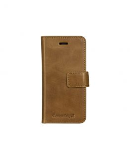 iPhone 7 Wallet Lynge 2, Golden Tan (Signature)