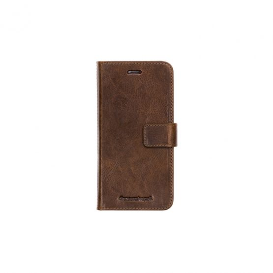 iPhone 8/7/6/6S Plus Wallet Lynge 2, Chestnut (Signature)