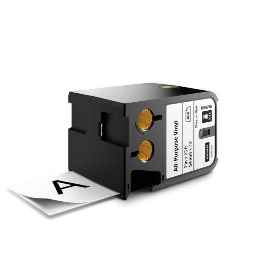 Tape XTL 54mmx7m all-purpose vinyl bl/whi