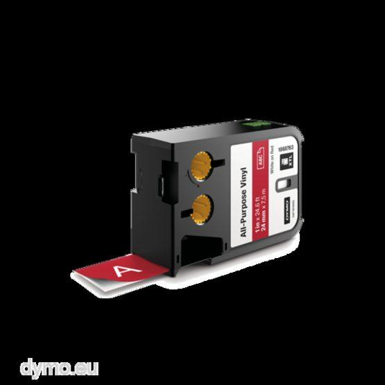 Tape XTL 24mmx7m all-purpose vinyl white/red