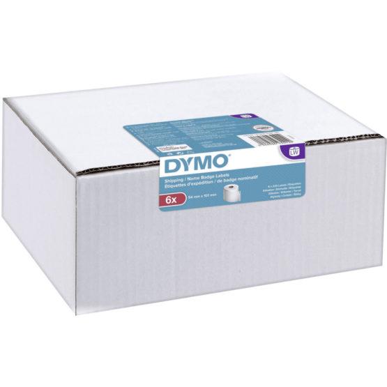 Label Ship/naming 54x101 perm white 220 pcs (6 rolls)