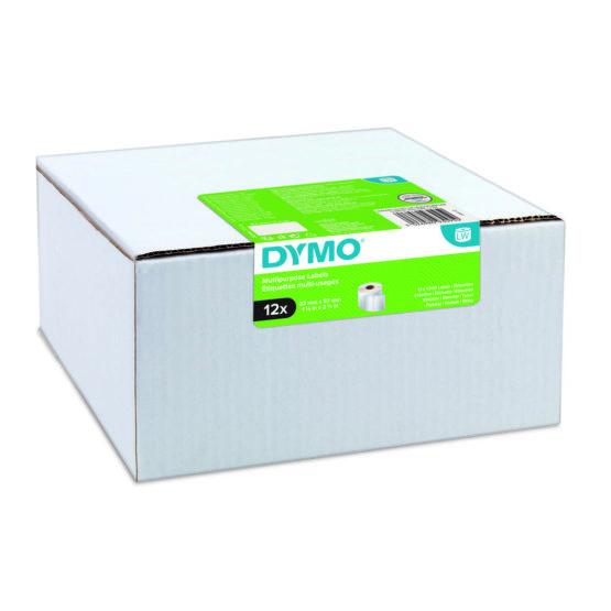 Label Multi 32x57mm remov white (12x1000)