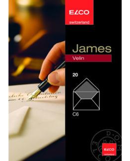 James Velin envelope C6 20-pac