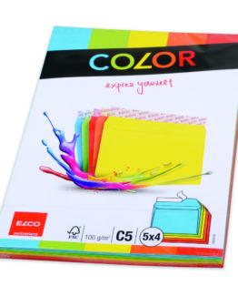 Envelope C5 assorted colors (20)