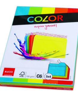 Envelope C6 assorted colors (20)