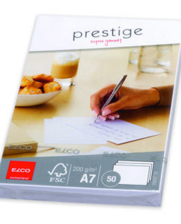 Prestige letter Cards A7 50-pac