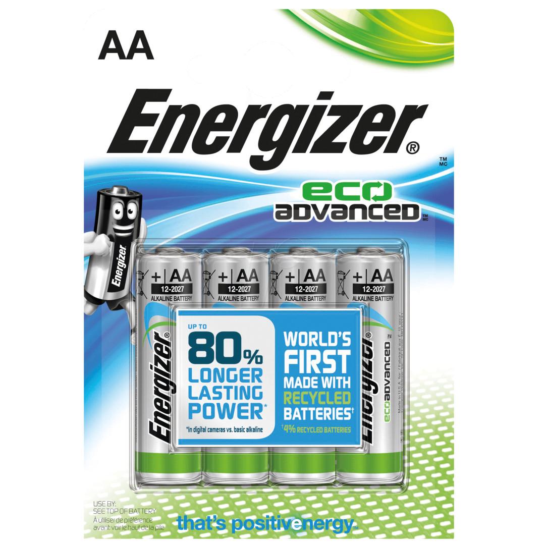 Energizer Eco Advanced AA/LR6 (4-pack)