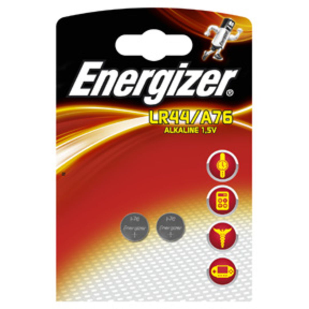 Energizer Alkaline LR44/A76 (2-pack)
