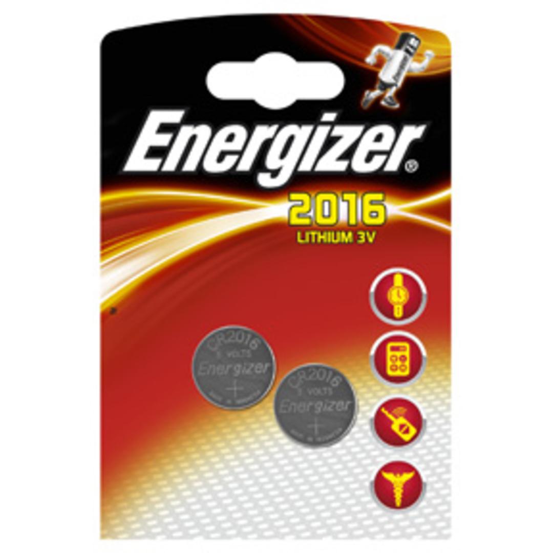 Energizer Lithium CR2016 (2-pack)