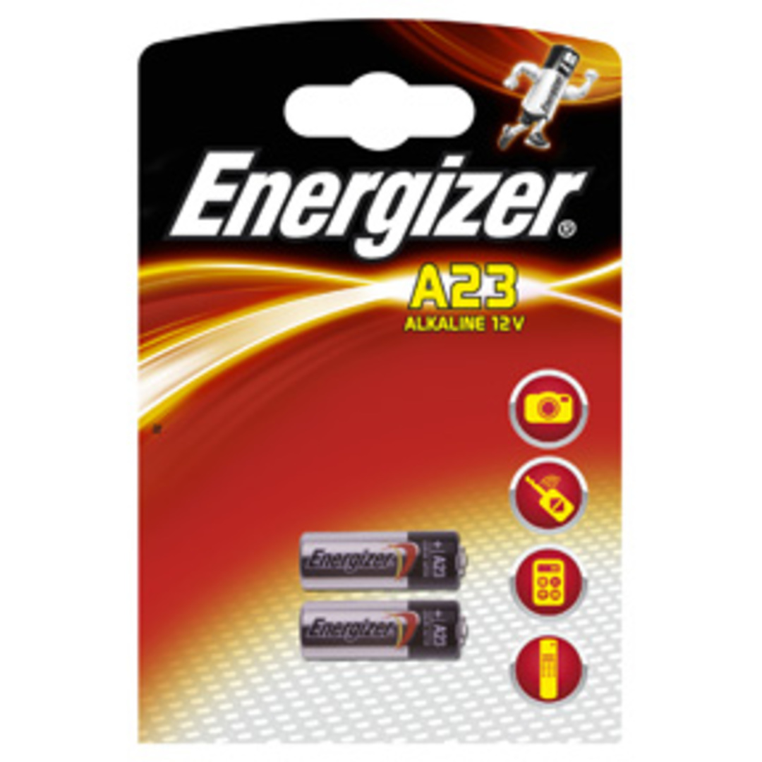 Energizer Alkaline A23/E23A (2-pack)