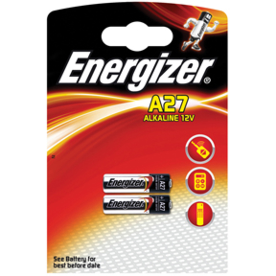 Energizer Alkaline A27 (2-pack)