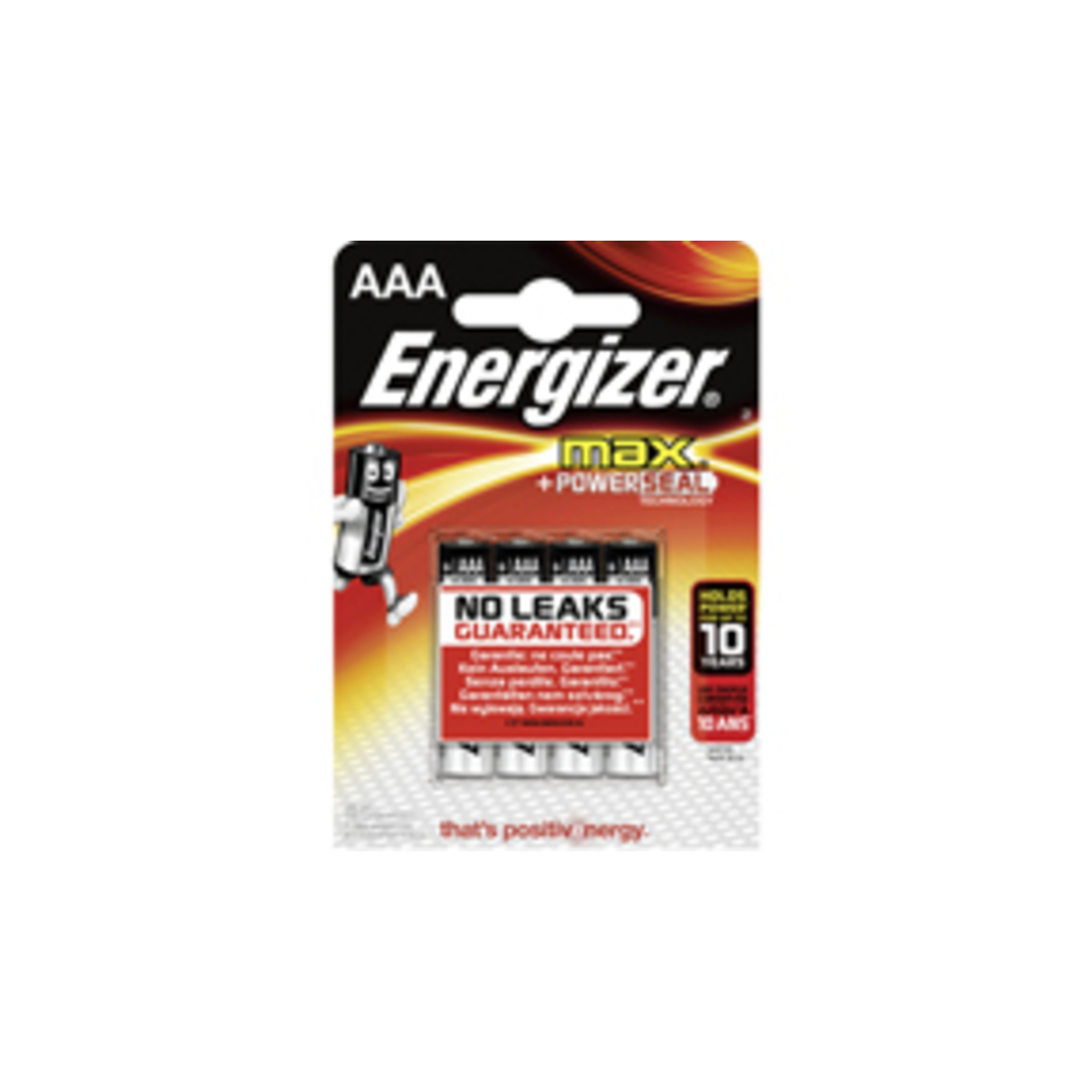 Energizer MAX AAA/LR03 (4-pack)