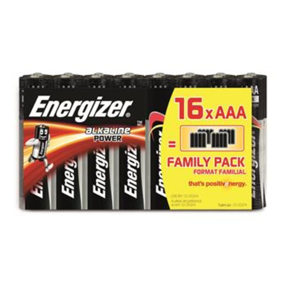 Energizer Alkaline Power AAA/E92 (16-pack)