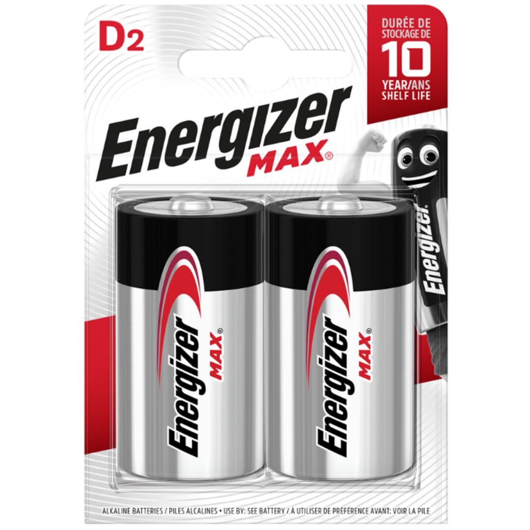 Energizer MAX D/E95 (2 pack)