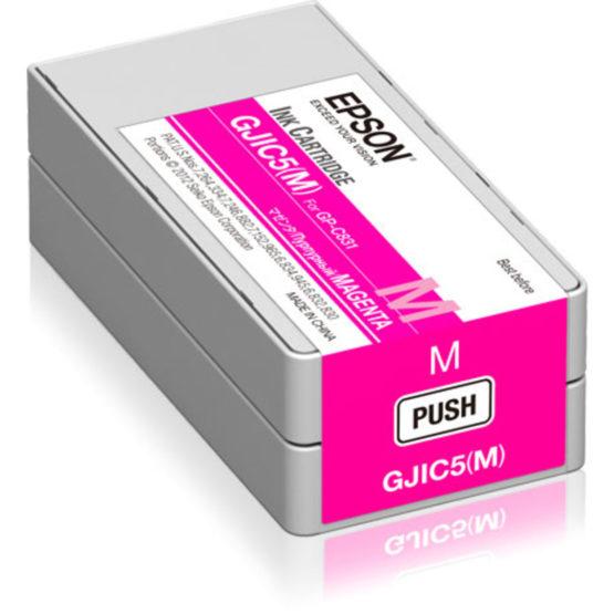 GJIC5M Ink cartridge for ColorWorks C831 Magenta