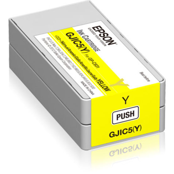 GJIC5Y Ink cartridge for ColorWorks C831 Yellow