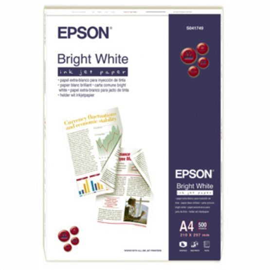 A4 Bright white ink paper (500)