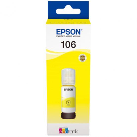 T106 EcoTank Yellow Ink bottle