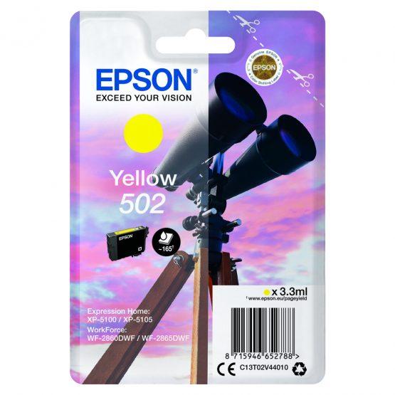 T502 Yellow Ink Cartridge