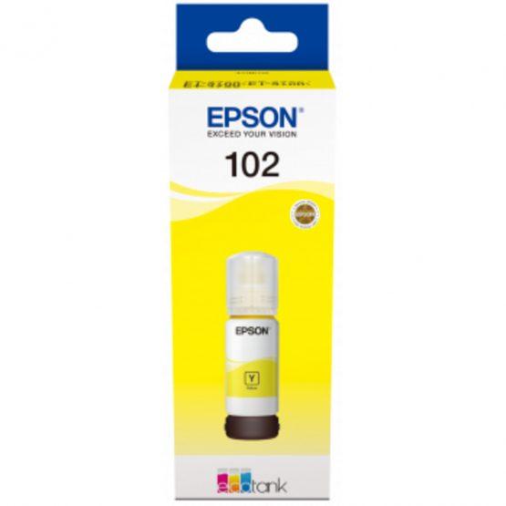T102 EcoTank Yellow Ink bottle