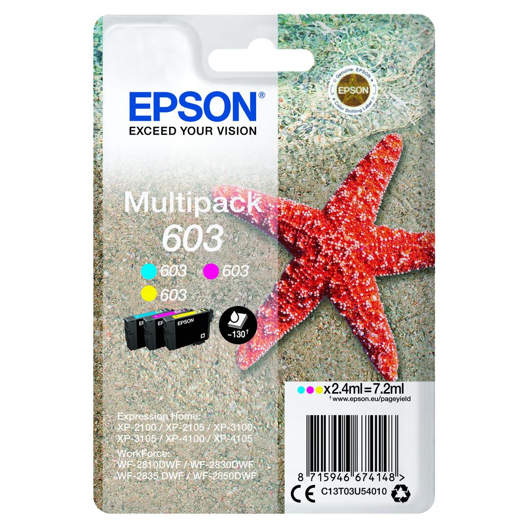 T03U Multipack 3-colours 603 Ink Cartridge