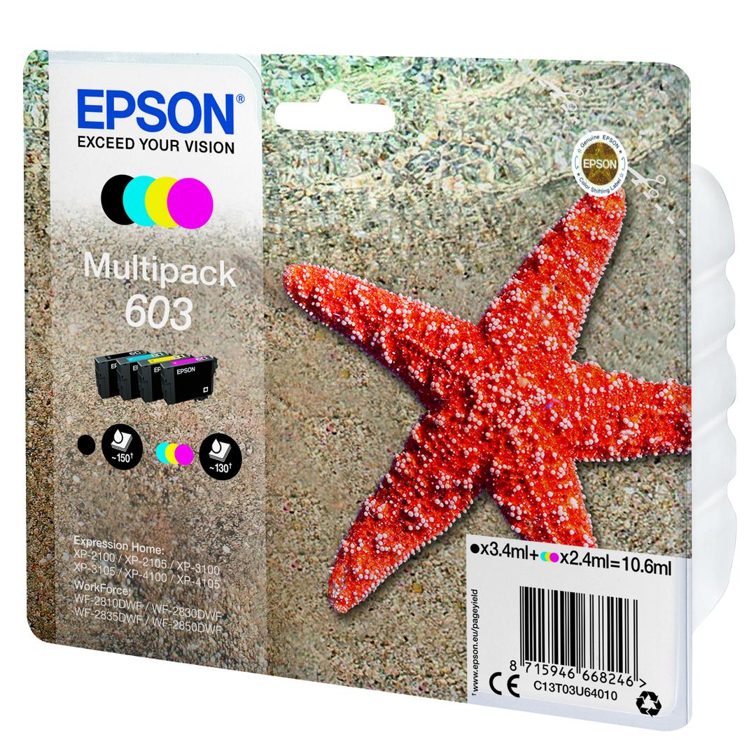 T03U Multipack 4-colours 603 Ink Cartridge