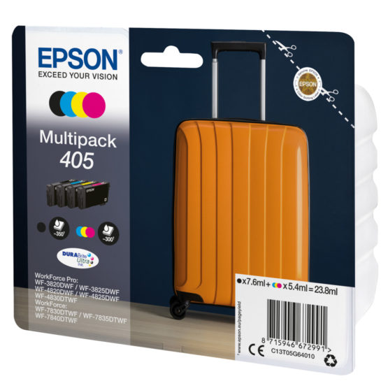 T405 Multipack 4-colours Ink
