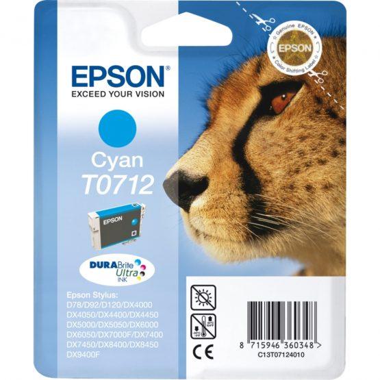 T0712 Cyan Ink Cartridge 5.5 ml
