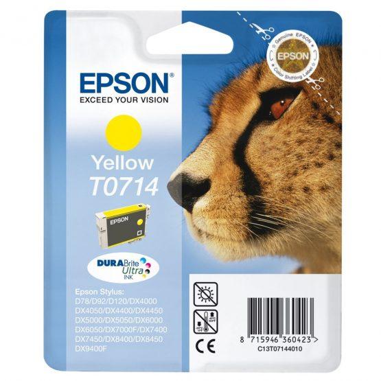 T0714 Yellow Ink Cartridge 5.5 ml