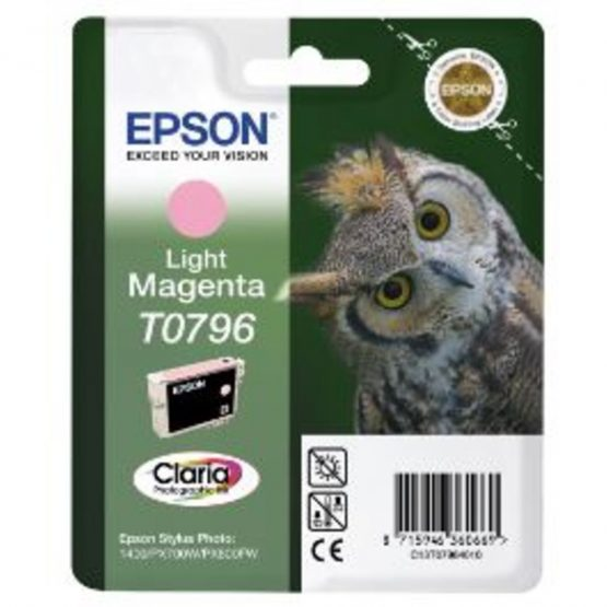 T0796 Light Magenta Ink Cartridge