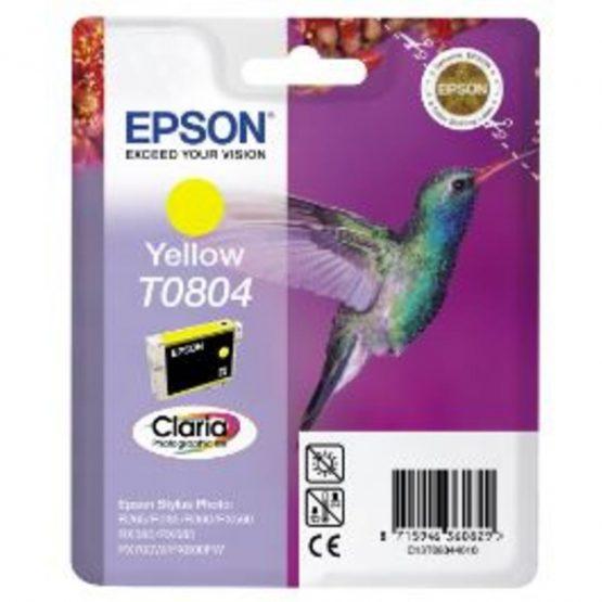 T0804 Yellow Ink Cartridge