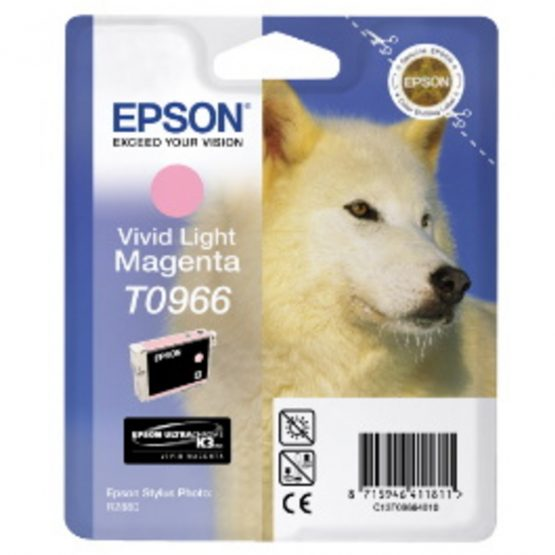 T0966 Vivid Light Magenta Ink Cartridge