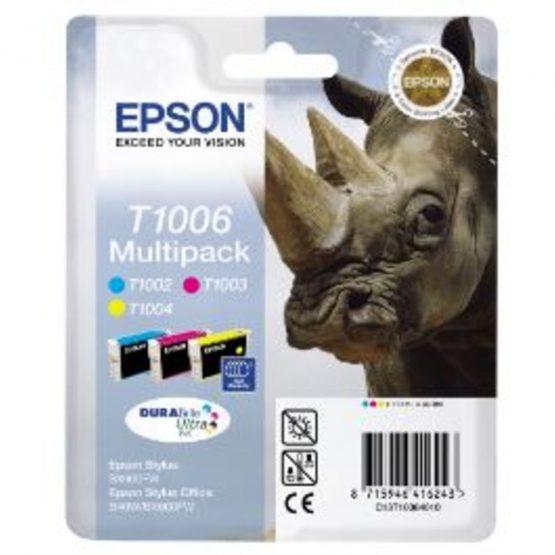T1006 Multipack (C,M,Y) Ink Cartridge