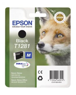 T1281 Black Ink Cartridge w/alarm