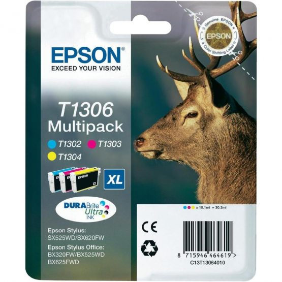 T1306 Multi Pack Ink 3-colour XL