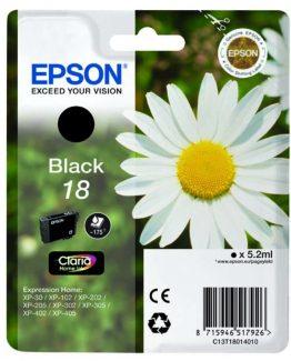 T1801 Black Ink Cartridge w/alarm