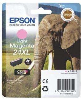 T2436 Light Magenta Ink Cartridge  24XL w/alarm