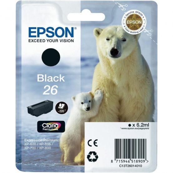 T2601 Black Ink Cartridge