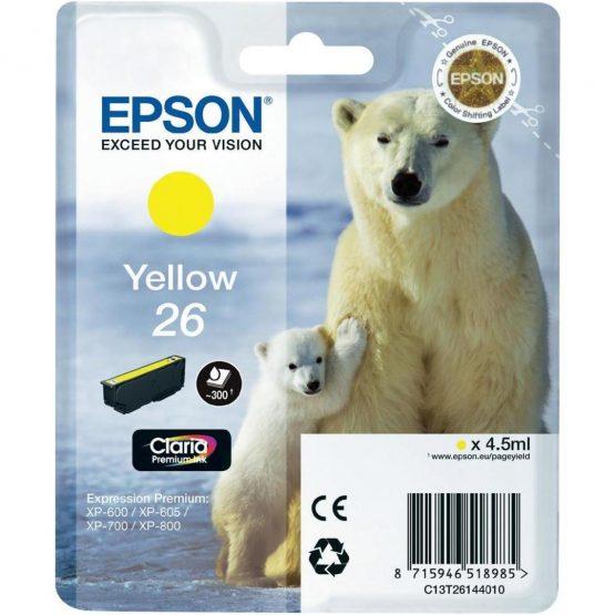T2614 Yellow Ink Cartridge