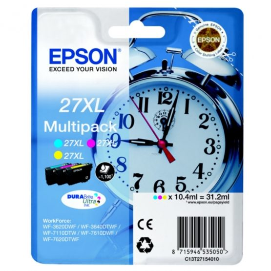 T2715 3-Color Multipack Ink Cartridge XL