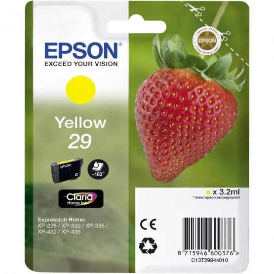 29 Yellow Claria Home Ink