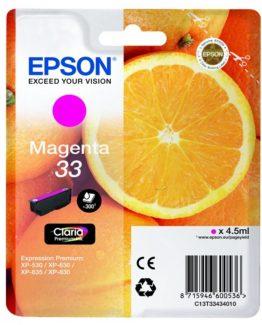 33 Magenta Claria Premium Ink
